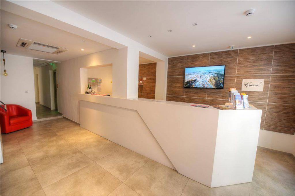 Haward hotel residence reception