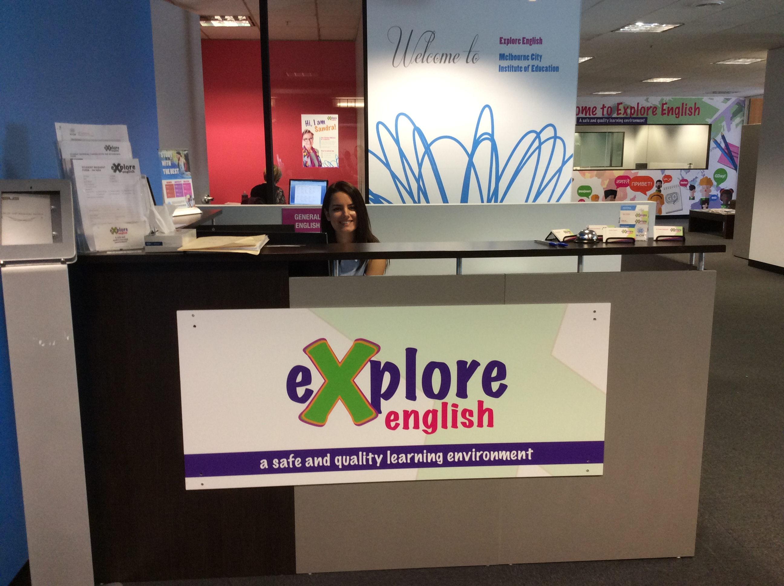 Explore English Melbourne campus