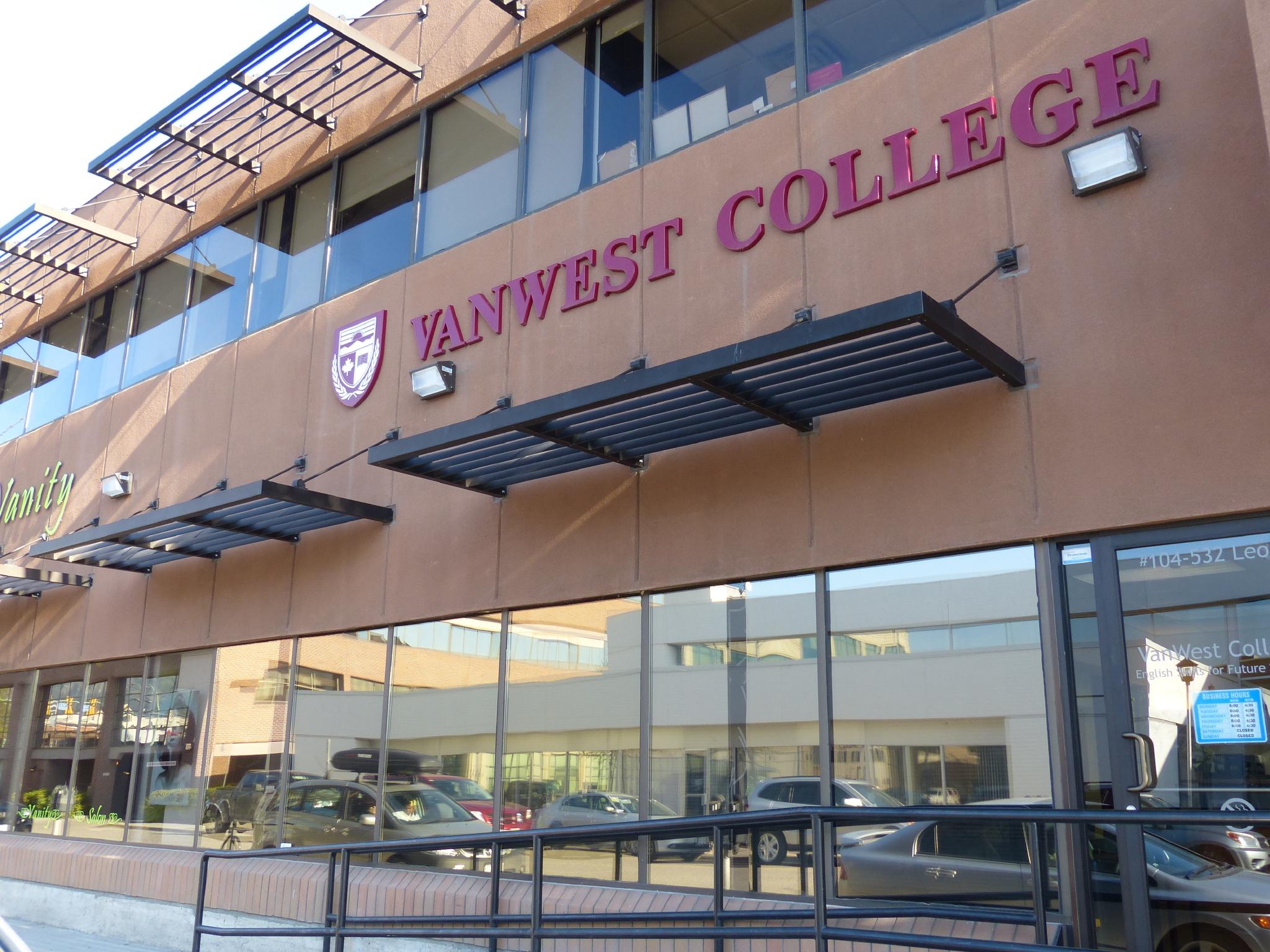 VanWest College Kelowna Campus