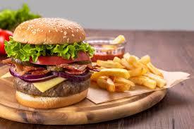 定番!ハンバーガー