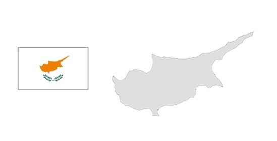 キプロス地図