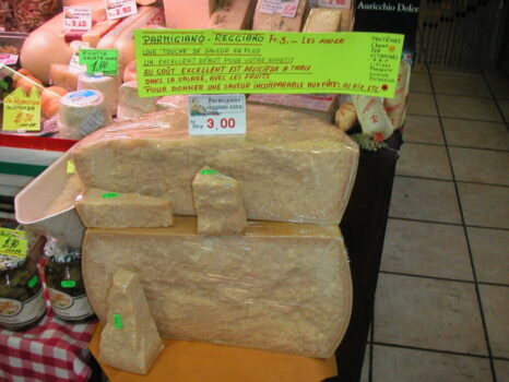 小分けする前のチーズってこんなに大きいのですね!