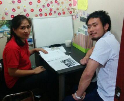 マンツーマン集中レッスンで有名なフィリピンの語学学校にて