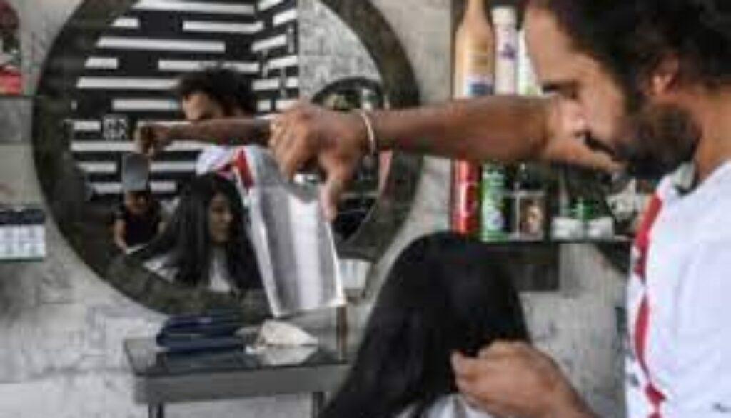 パキスタン 美容師
