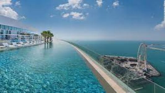 dubai infinity pool