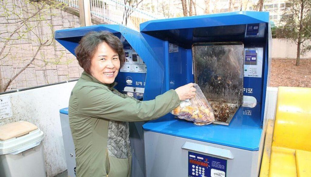 south korea 韓国 ゴミ リサイクル